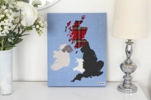 British Isles 50cm x 40cm