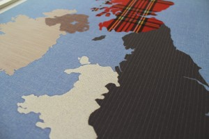 British Isles 70x50 Print Close-Up