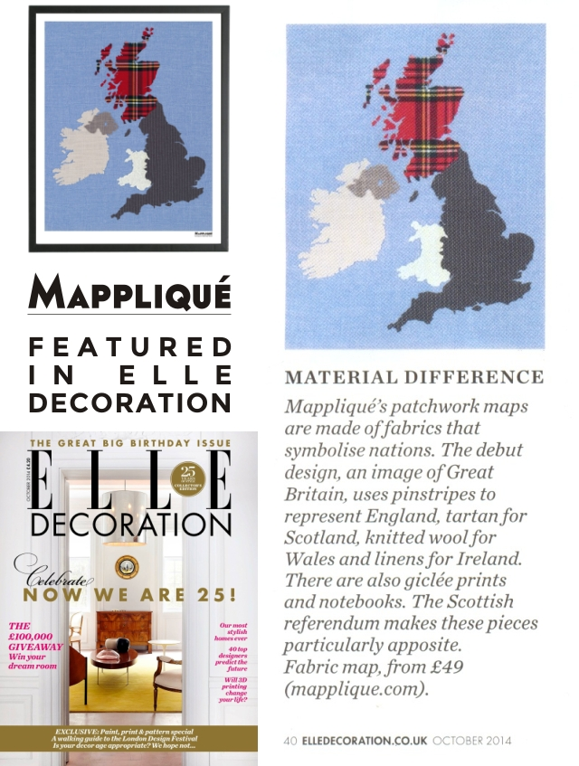 ELLE Decoration OCT 2014 CLIPPING