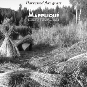 Harvesting Flax grass to produce Irish Linen - From Flax to lux: Irish Linen Heritage -  - Mappliqué