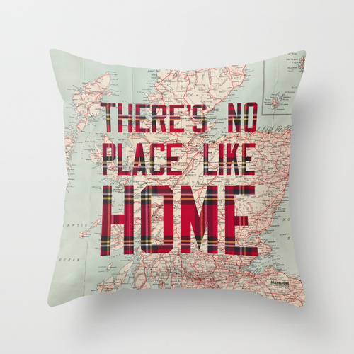 Mapplique Theres no place like home scotland